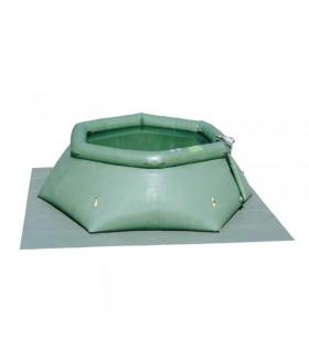 Offener Flexibler Behälter 2500 Liter Falttank Faltbehälter