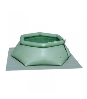 Offener Flexibler Behälter 6000 Liter Falttank Faltbehälter