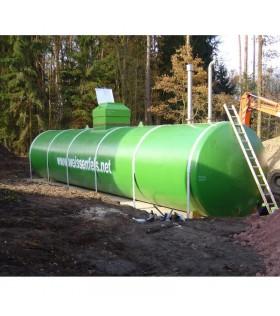 Löschwasserbehälter 90.000 Liter Stahltank -- Preis auf Anfrage