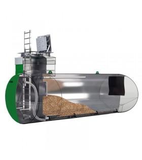 Pelletspeicher ca. 23.000 kg - Pelletbehälter - Pelleterdtank -- Preis auf Anfrage