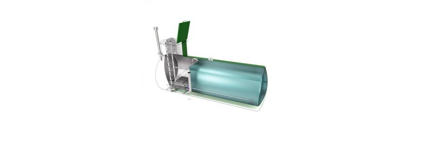 Unterirdische Trinkwasserbehälter ▷ Trinkwassertank ▷ Edelstahltanks