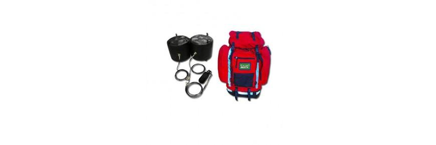Bergungsrucksack ▷ Rettungsrucksack ▷ Hebesystem